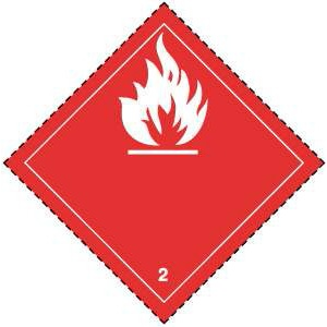 class 2 gases flammable division 2 1